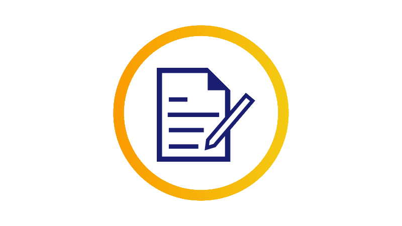 Icon depicting checklist